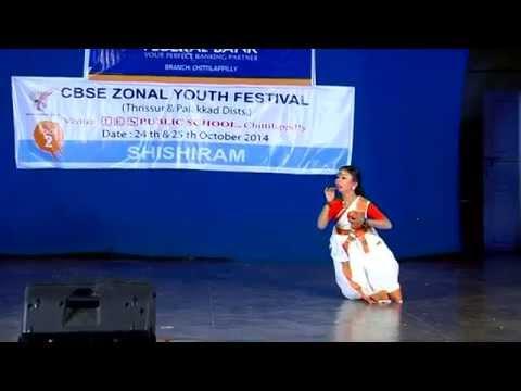 Malayalam folk dance- Prize winning performance. SREYA SUDHEER- 4th std. (Choreo: Arun Master)