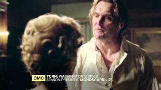 TURN Washington Spies (T3) - Teaser promo AMC  HD