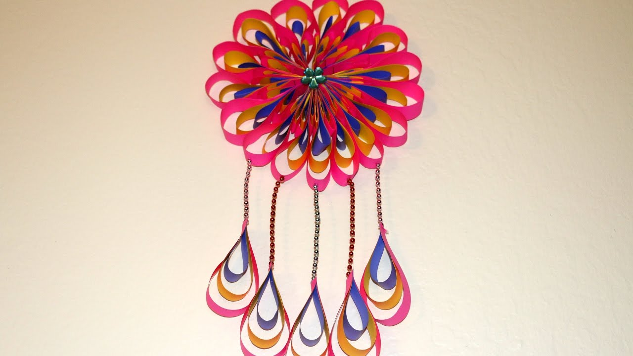 Diy room decor ideas how to make paper crafts ideas to decorate your home mandala theme - How to decorate your house ...
