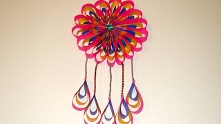 DIY Room Decor Ideas : How to Make Paper Crafts Ideas to Decorate Your Home - Mandala Theme