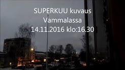 Vammalan superkuu 14.11.2016