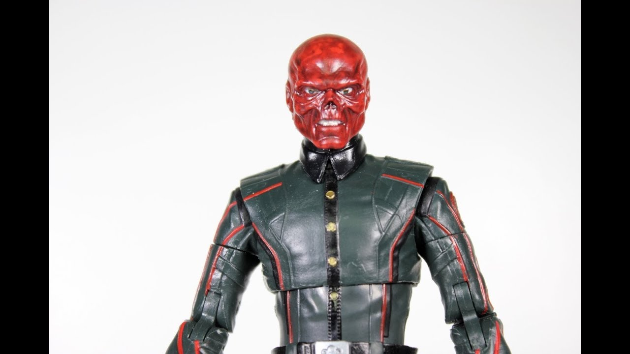 Marvel Legends 10th Anniversary RED SKULL HYDRA Marvel Studios.