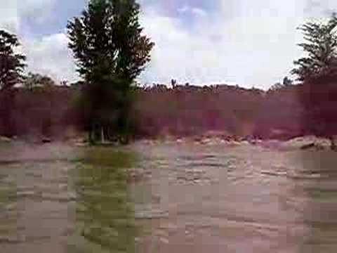 Boating in kaveri river..