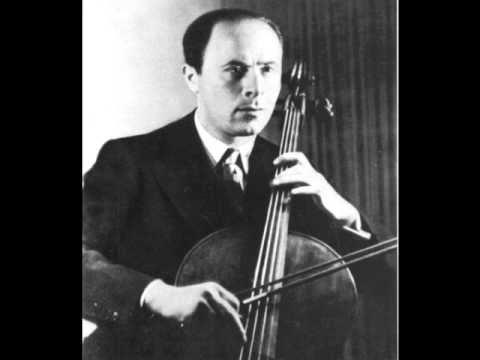 Schubert - Sonate D821 Arpeggione - Mov 1 - Emanuel Feuermann
