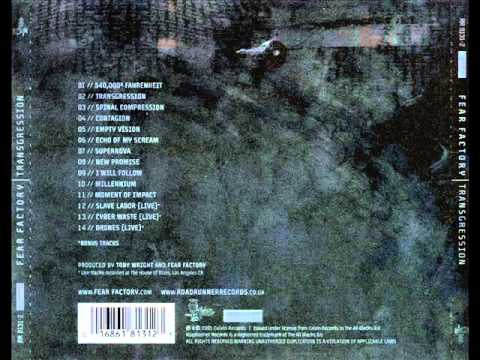 Fear Factory - 540,000° Fahrenheit // Lyrics