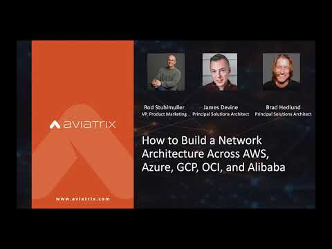 How to Build a Network Architecture Across AWS, Azure, GCP, OCI, and Alibaba