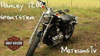 Harley Davidson Sportster 1200 / MoteursTv [FR]