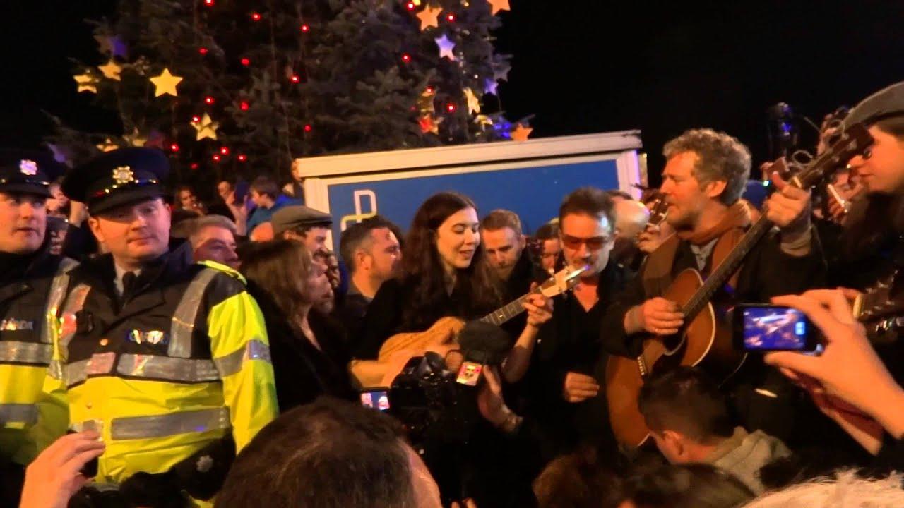 christmas eve grafton street 2018