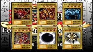 Tener los 3 Dioses Egipcios y algo mas en Yugioh Forbidden Memories 2