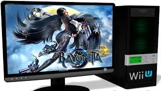 CEMU 1.7.4d Wii U Emulator - Bayonetta 2 (2014). Ingame (PROLOGUE). Test #15 Video
