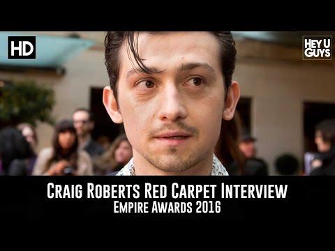 Craig Roberts Red Carpet Interview - Empire Awards 2016