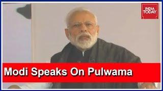 PM Modi On Pulwama Tragedy: