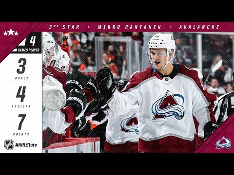 Rantanen named third star of the week