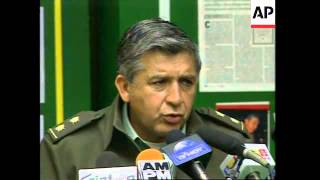COLOMBIA: ALLEGED TOP HEROIN TRAFFICKER IS CAPTURED