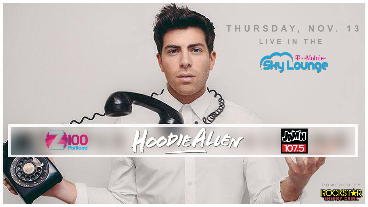 No Interruption Hoodie Allen In The T Mobile Skylounge Youtube