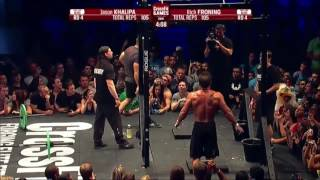 CROSSFIT OPEN 13.5 Jason Khalipa vs Rich Froning