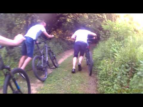haibike Sunday  ride top of the hill part 2