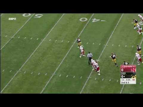 Akrum Wadley Breaks Free for 75-YD TD Run vs. Nebraska