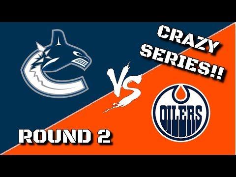 Round 2 vs. Edmonton Oilers | NHL 18 | Vancouver Canucks Franchise Mode Ep. 12