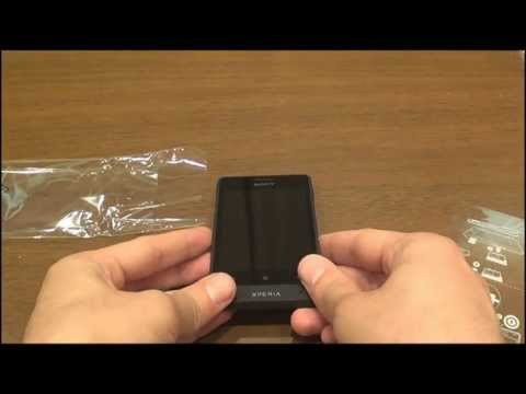 sony xperia  go unboxing