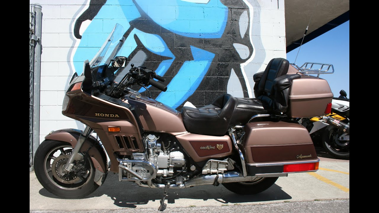 1986 Honda Goldwing 1200 Aspencade GL1200A motorcycle for sale ...