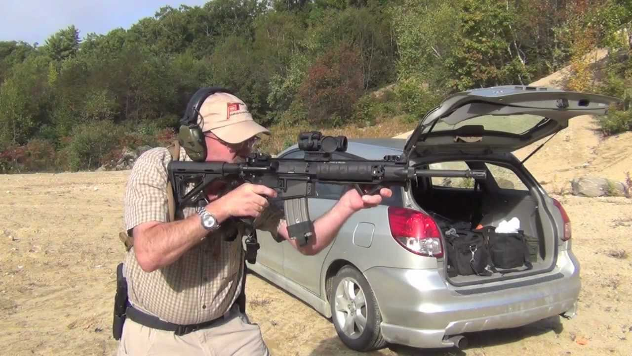 Smith And Wesson Mp T Tactical Ar15 Shooting Review Youtube
