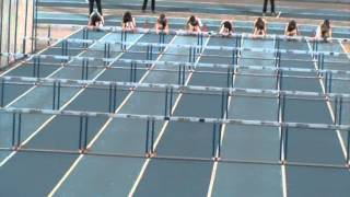 Championnat LBFA Indoor 60m Haies Catherine