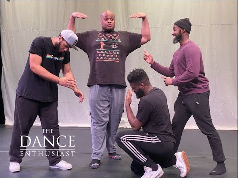"""New York Dance Up Close: with The Dance Enthusiast - Brooklyn Ballet Rehearses """"Quartet"""""""