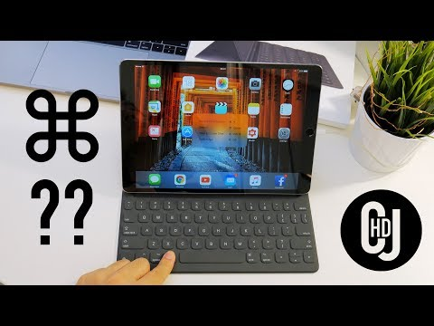 4 Essential Shortcuts for Apple Smart Keyboard Cover!