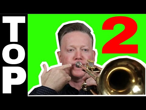Top 2 reasons trumpet players CANNOT play high by Kurt Thompson #trumpetlessons