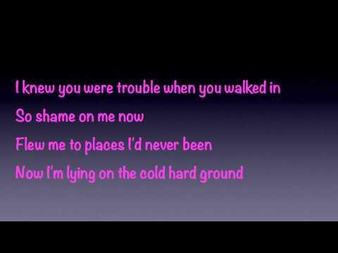 taylor-swift-knew-you-were-trouble-lyrics