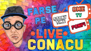 🔴FARSE IN DIRECT PE OME.TV + FONFAITU' || 7x8 || SINDROMUL TOURETTE || STORYTIME 💃🕺🔞🔞