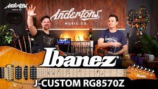 Ibanez J Custom RG8570 Guitars - As Good As it Gets from Ibanez??