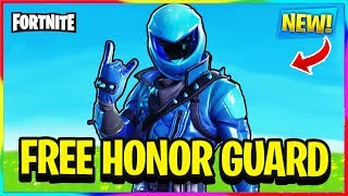«NOUVEAU» COMMENT OBTENIR EXCLUSIVE HONOR GUARD SKIN FREE! (DONNER) Fortnite Bataille Royale