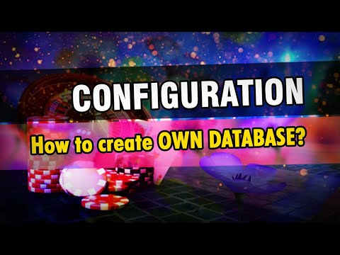 0 - #4 Create OWN Database