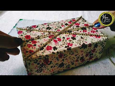 DIY crafts: How to make jewellery box at home