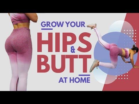Grow Your Hips & Butt | Home Booty Workout | Side Butt | Hip Dips