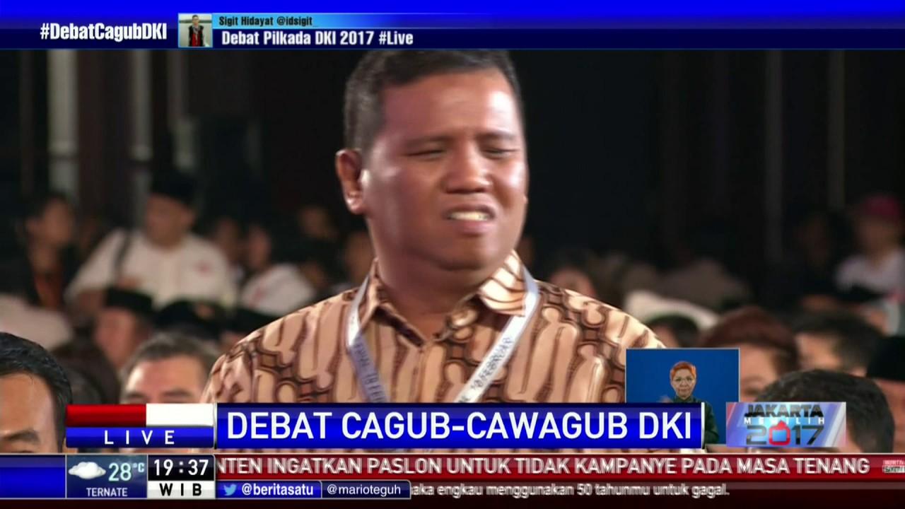 Debat Dibuka Dengan Menyanyikan Lagu Indonesia Raya
