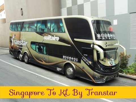 Singapore to Kuala Lumpur by Transtar Solitaire Bus