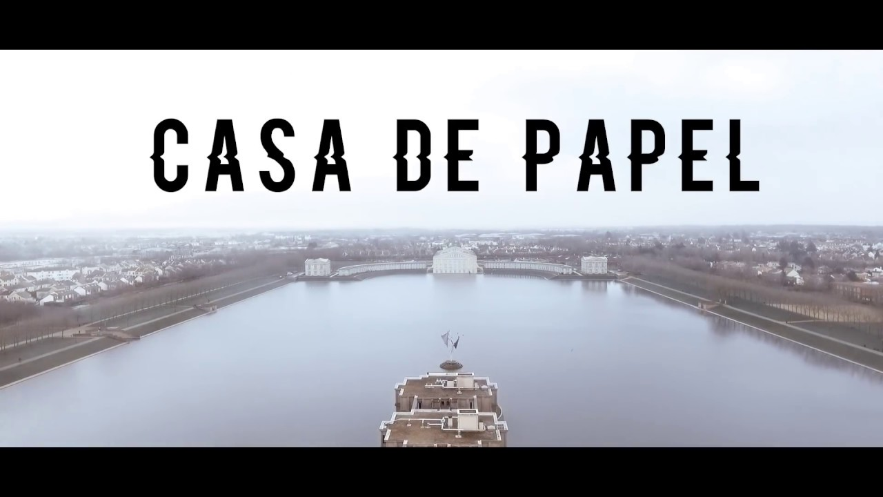 SKG  Casa de papel Clip officiel  YouTube