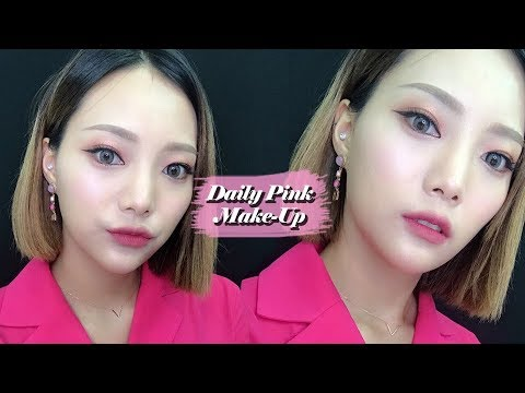 Daily Pink Makeup✨