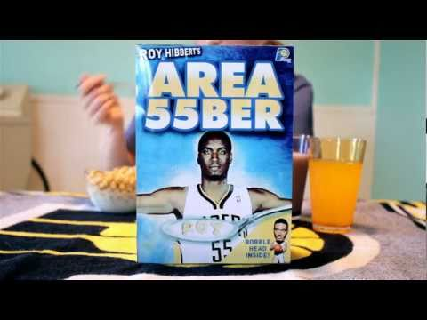 "Annie Cline ""Area 55ber"" Roy Hibbert Area 55 Indiana Pacers"
