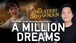 A Million Dreams (Adult P.T. Barnum Part Only - Karaoke) - The Greatest Showman