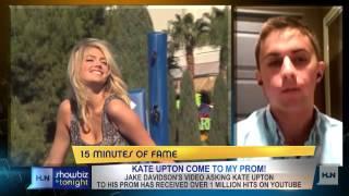 Did Kate Upton turn down Jake Davidson