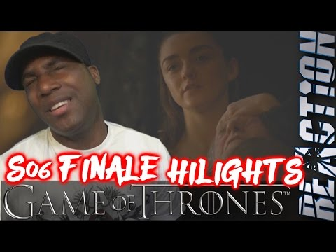 """Game of Thrones 6x10 """"The Winds of Winter"""" HIGHLIGHTS! REACTION!!"""