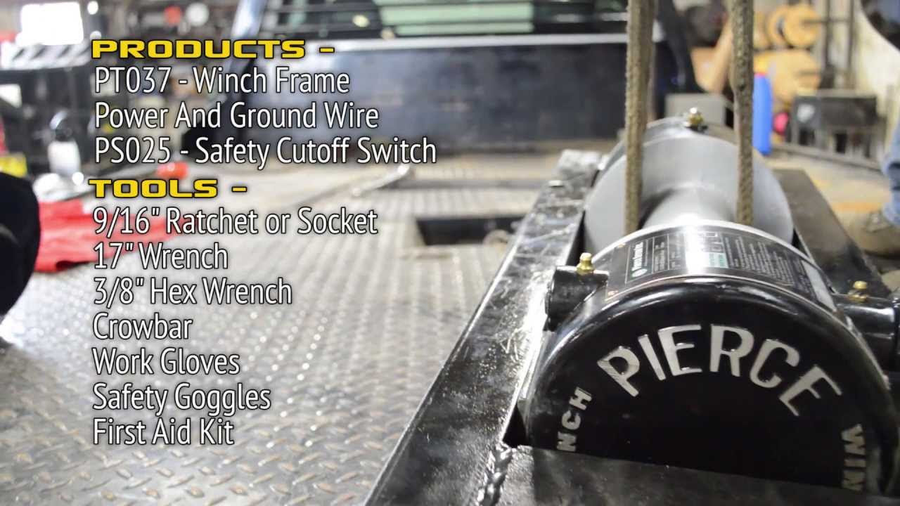 pierce wiring schematics pierce wiring diagrams pierce winch wiring
