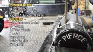 ps654 series electric winches
