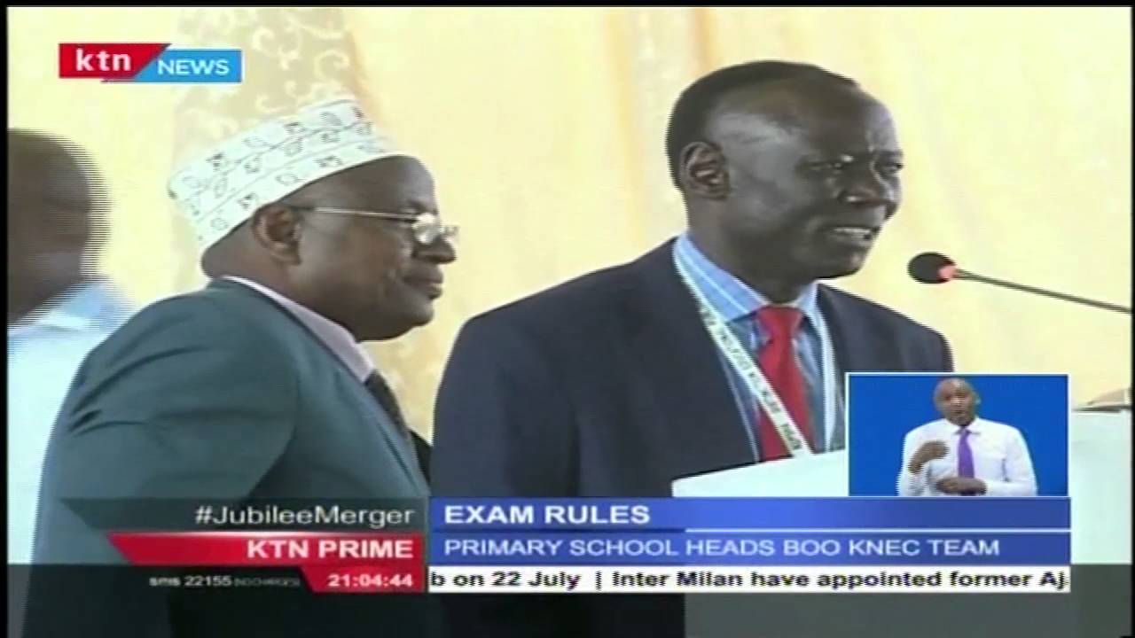 Head School\'s Teachers\' opposed to new KNEC rules to curb