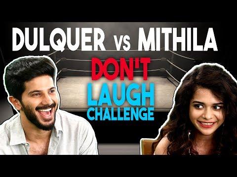 Don't Laugh Challenge | Dulquer Salmaan VS Mithila Palkar