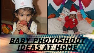 Baby photoshoot ideas at home | Baby photoshoot ideas for festivals and special occasion